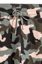 Joggers - Khaki green/Patterned - Ladies | H&M CN 3
