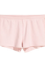 Pyjamas with top and shorts - Light pink - Ladies | H&M 3