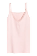 Pyjamas with top and shorts - Light pink - Ladies | H&M 4