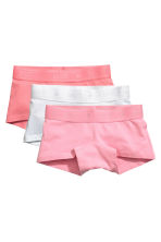 3-pack cotton boxer briefs - Pink - Kids | H&M 1