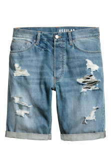 Denim shorts Trashed