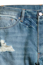 Denim shorts Trashed - Denim blue - Men | H&M 4