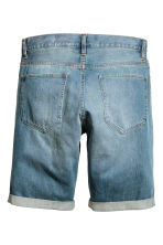 Denim shorts Trashed - Denim blue - Men | H&M 3