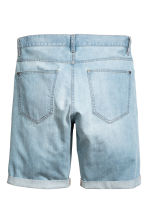 Denim shorts Trashed - Light denim blue - Men | H&M CA 3