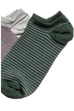 7-pack trainer socks - Grey/Striped - Men | H&M 2