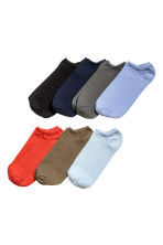 7-pack trainer socks - Blue/Orange - Men | H&M 1