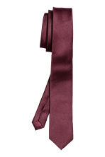 Satin tie - Burgundy - Men | H&M 2