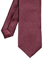 Satin tie - Burgundy - Men | H&M 3