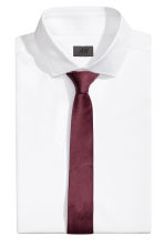 Cravatta in satin - Bordeaux - UOMO | H&M IT 1