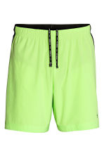 Shorts da running - Giallo neon - UOMO | H&M IT 2