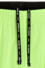 Running shorts - Neon yellow - Men | H&M 4
