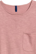 Fine-knit T-shirt - Dusky pink - Men | H&M 3