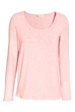 MAMA Nursing top - Light pink marl - Ladies | H&M CA 2