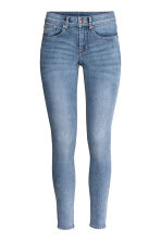 Super Skinny Regular Jeans - 淡牛仔蓝 - Ladies | H&M CN 3