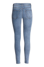 Super Skinny Regular Jeans - 淡牛仔蓝 - Ladies | H&M CN 4
