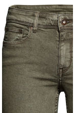 Super Skinny Regular Jeans - Khaki green - Ladies | H&M CN 4