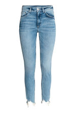Skinny High Ankle Jeans - Light denim blue -  | H&M 2