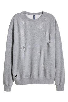 Trashed Sweatshirt