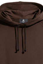 Hooded top - Dark brown - Men | H&M CN 2