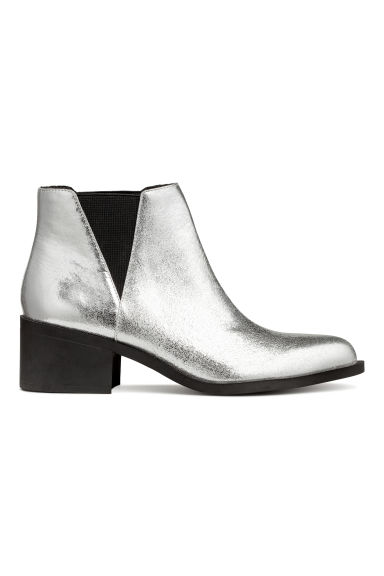 Ankle boots - Silver - Ladies | H&M CN 1