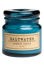 Candela profumata in vasetto - Blu/Saltwater - HOME | H&M IT 1