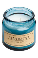 Candela profumata in vasetto - Blu/Saltwater - HOME | H&M IT 2