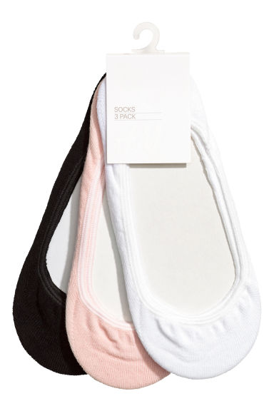 3-pack mini socks - Powder pink - Kids | H&M 1