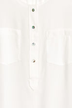 H&M+ Crêpe blouse - White - Ladies | H&M 3