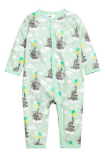 2-pack all-in-one pyjamas - Mint green/Dumbo - Kids | H&M 2