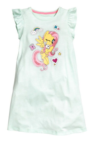 Camicia da notte jersey - Verde menta/My Little Pony - BAMBINO | H&M IT 1