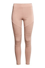 Jersey biker leggings - Beige - Ladies | H&M 2