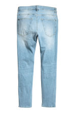 Skinny Low Trashed Jeans - Light denim blue - Men | H&M 3