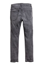 Skinny Low Trashed Jeans - Dark grey washed out - Men | H&M 3