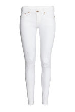 Super Skinny Low Jeans - White denim - Ladies | H&M 2