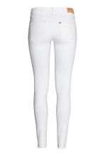Super Skinny Low Jeans - White denim - Ladies | H&M 3