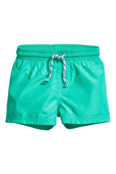 Swim shorts - Mint green - Kids | H&M CN 1