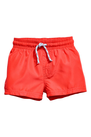 Swim shorts - Coral red - Kids | H&M 1