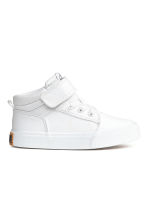 Sneakers in twill di cotone - Bianco -  | H&M IT 1