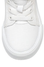 Sneakers in twill di cotone - Bianco -  | H&M IT 4