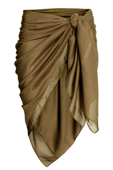 Sarong - Khaki green - Ladies | H&M CN 1