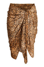 Patterned sarong - Leopard print - Ladies | H&M CN 1