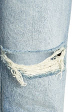 Relaxed Skinny Ankle Jeans - Light denim blue - Ladies | H&M CN 3