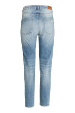 Relaxed Skinny Ankle Jeans - Light denim blue - Ladies | H&M CN 2