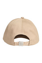 Cotton cap - Beige - Ladies | H&M 2