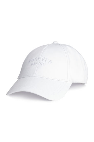 Cotton cap - White - Ladies | H&M CN 1