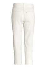 Vintage High Cropped Jeans - Natural white -  | H&M 3