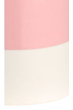 Porcelain toothbrush mug - Light pink/White - Home All | H&M CN 2