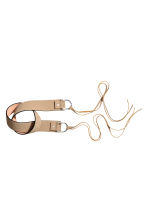 Waist belt - Light beige - Ladies | H&M CN 2
