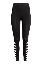 Jersey leggings - Black -  | H&M 2