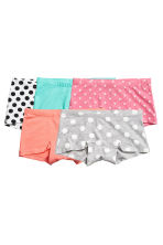 5-pack boxer briefs - Grey/Spotted - Kids | H&M 1